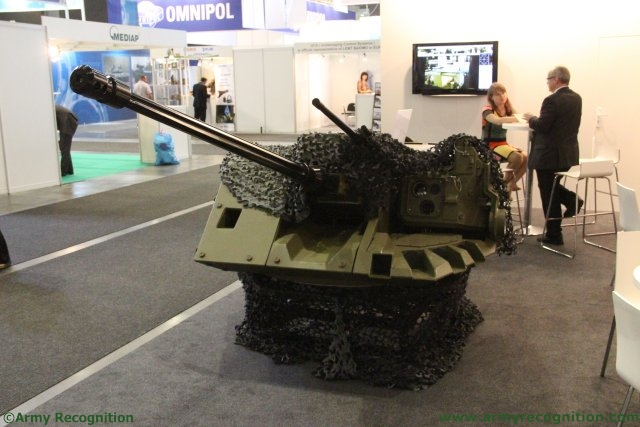 Remote Controlled Turret and Weapon Station of EVPU presented during IDET 2015 640 001