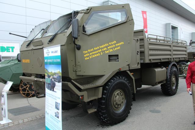 Tatra 4x4 HMDH IDET 2015 International Exhibition Defence Security Technologies 001