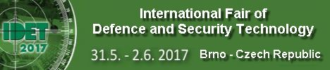 IDET 2017 Official Online Show daily news coverage report International Defence and Security Technologies Fair Exhibition Brno Czech Republic army military defense industry technology