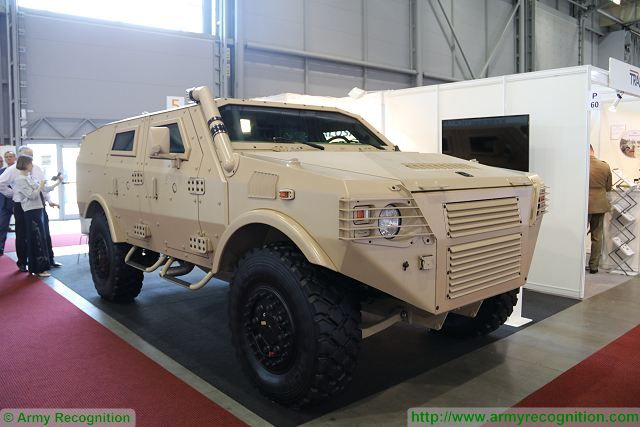 At IDET 2017, the International Defence and Security Technologies Fair in Czech Republic ,the Czech Company Talosa unveils its new 4x4 light tactical armoured vehicle. The Company is manufacturer of propulsion parts for off-road and special racing TATRA trucks.