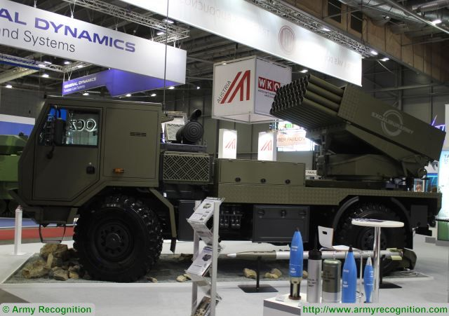 At IDET 2017, Excalibur army presents its newest version of the BM-21 Grad MLRS. The BM-21 MT is an upgraded project of the originial 122mm BM-21 Grad rocket launcher. It is a firing support means for the ground troops, designed for the focused carpet destruction of the enemy's position, their resources, military equipment and human forces within a distance of 1,600 to 20,380m.