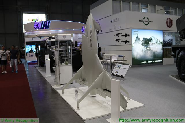 Czech Company EXCALIBUR INTERNATIONAL presents two models from the CANTAS family of UAVs at IDET 2017, International Defence and Security Technologies Fair in Brno, Czech Republic. The CANTAS A is a multifunctional unmanned aerial vehicle with vertical take-off and landing (VTOL) capability and with unique performance characteristics. The CANTAS E is designed to perform for long reconnaissance or patrol and surveillance missions.