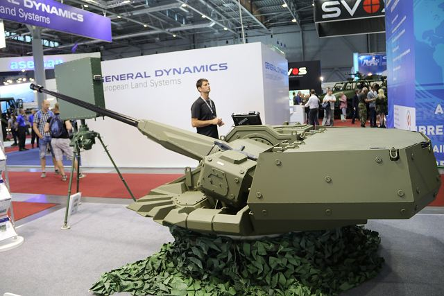 The Slovak Company EVPU presents its new armoured remotely controlled weapon station TURRA 30 for tracked or wheeled combat vehicles. The turret is fully developed and designed by EVPU using latest technologies of sighting and observation devices.