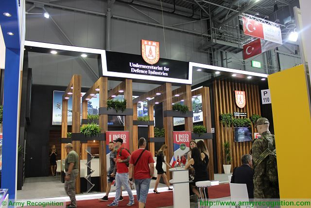 Turkey at IDET 2017 International Defense Exhibition in Czech Republic with 11 companies 640 002