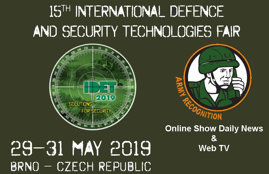 Army Recognition to provide Online Show Daily News including Web TV for IDET 2019 defense exhibition Czech Republic 925 001
