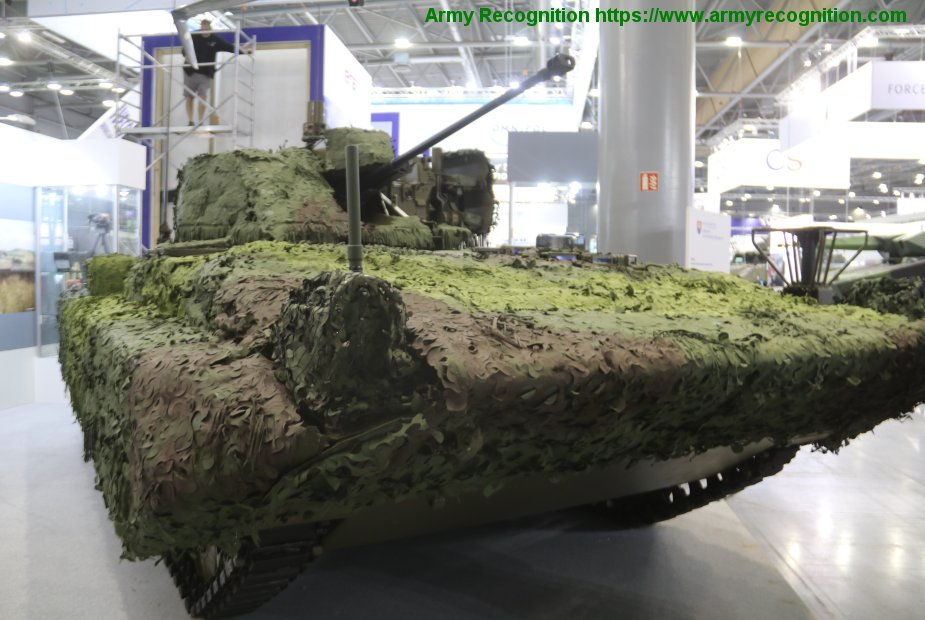 IDET 2019 Slovak MoD showcases BPsV 1 combat reconnaisance vehicle
