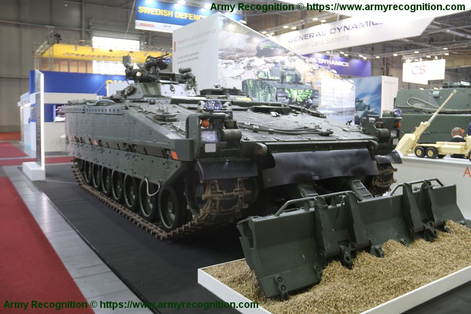 CV90 ARV armored recovery vehicle BAE Systems IDET 2019 925 001