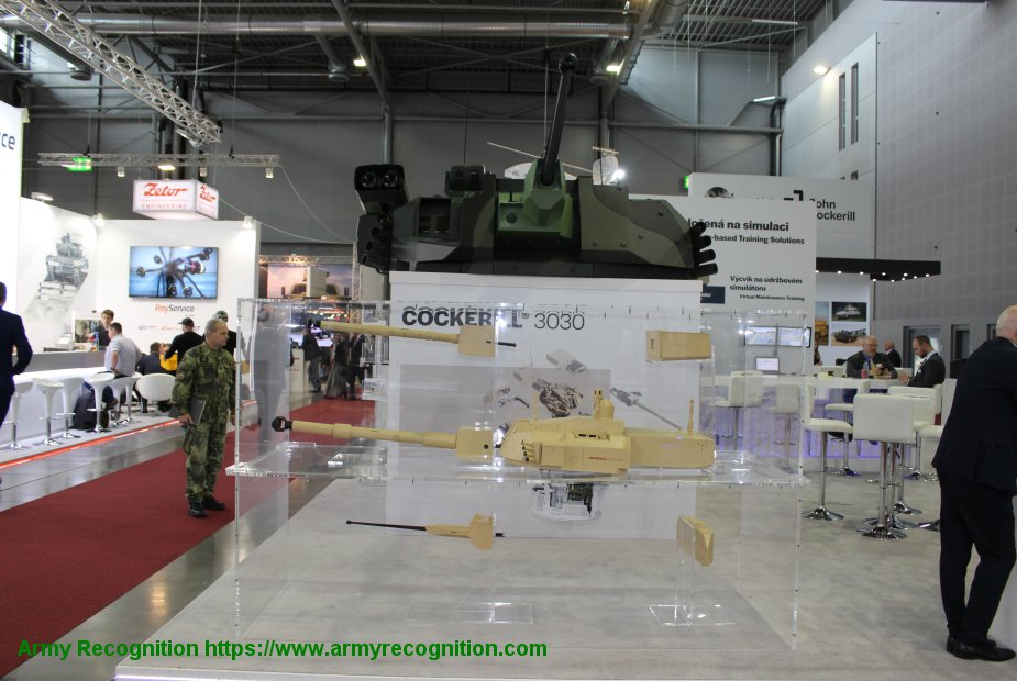 IDET 2019 John Cockerill Defense presents various weapon systems