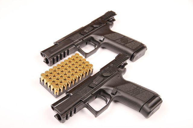 CZ P-07 and P-09 9mm semi-automatic compact pistols data