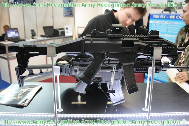 The Scorpion EVO3 A1 is a submachine gun or light automatic weapon of the PDW (Personnal Defense Weapon) category in 9x19mm caliber.