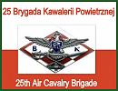 The 25th Brigade of Air Cavalry is to demonstrate the army training and the professional equipment in the show held on 5th September, just after the International Defence Industry Exhibition MSPO official opening ceremony.
