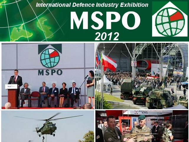 MSPO 2012 pictures photos images video gallery International defence industry exhibition Kielce Poland military technology