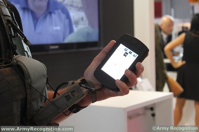 Defence and security company Saab has for the first time created a personal radio integration for the 9LAND SOLDIER sPAD. It was shown during the defence and security exhibition MSPO 2012 in Poland.