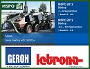 GEROH is pleased to announce that we will exhibit together with our Polish representative LETRONA at the MSPO 2012, in Kielce. For the first time our Polish representative Letrona Polska Sp. z o.o. will present our broaden spectrum of customized off-road trailer systems and outstanding mast solutions at the MSPO.