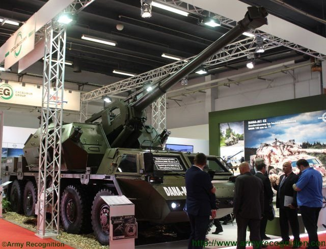 Excalibur Army s DANA M1 CZ self propelled howitzer starring in Poland 640 001
