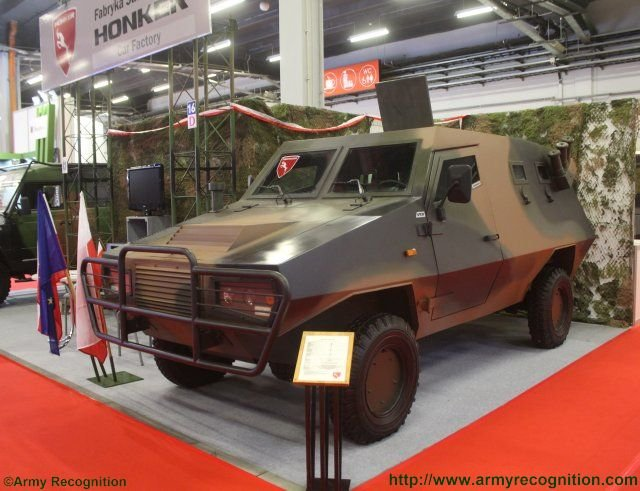 Honker introduces the Jenot an armored variant of its well known tactical truck 640 001