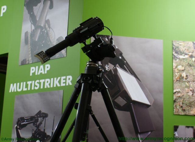 MSPO 2015 PIAP unveils its Multistriker Multifunctional Pyrotechnic Device 640 001