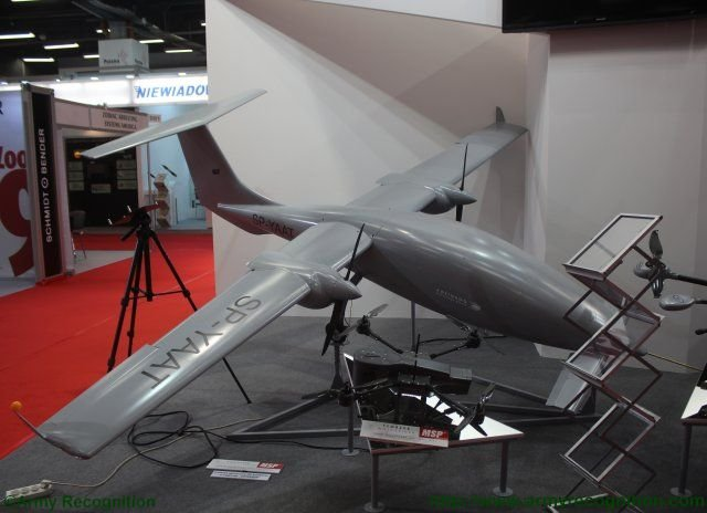 MSP introduces comprehensive range of UAVs at MSPO exhibition 640 001
