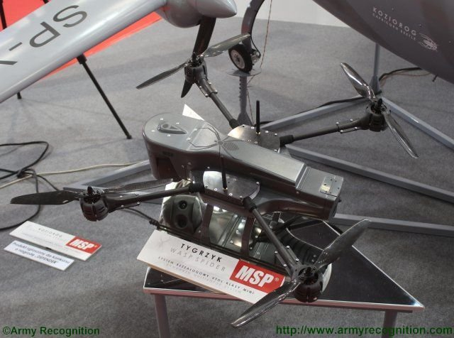 MSP introduces comprehensive range of UAVs at MSPO exhibition 640 002