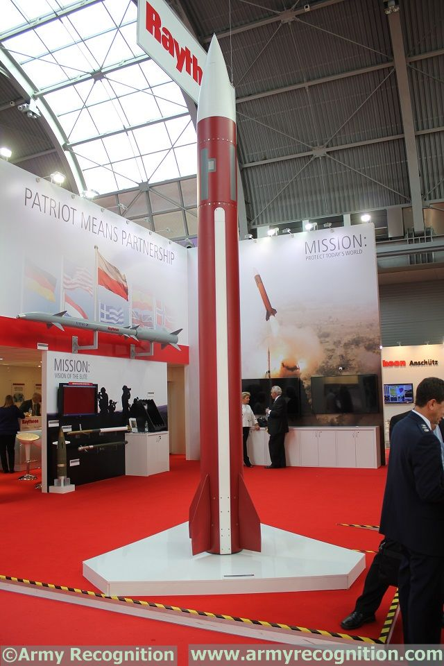 Raytheon Patriot Stand MSPO 2015 defense exhibition Kielce Poland 640 001