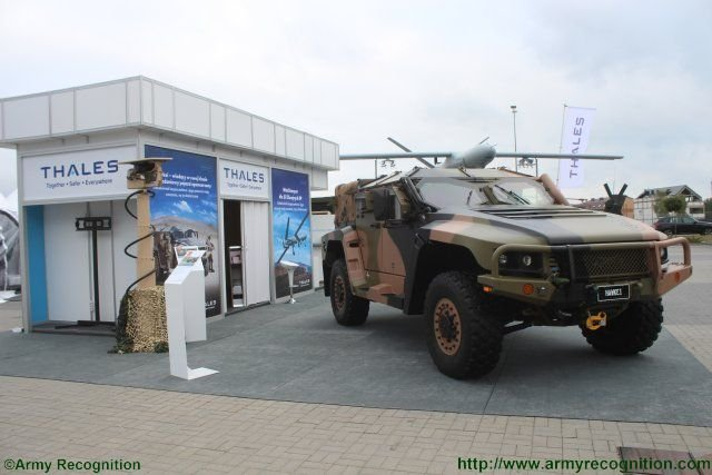 Thales promotes its hakwei Light Protected Vehicle in Poland 640 002
