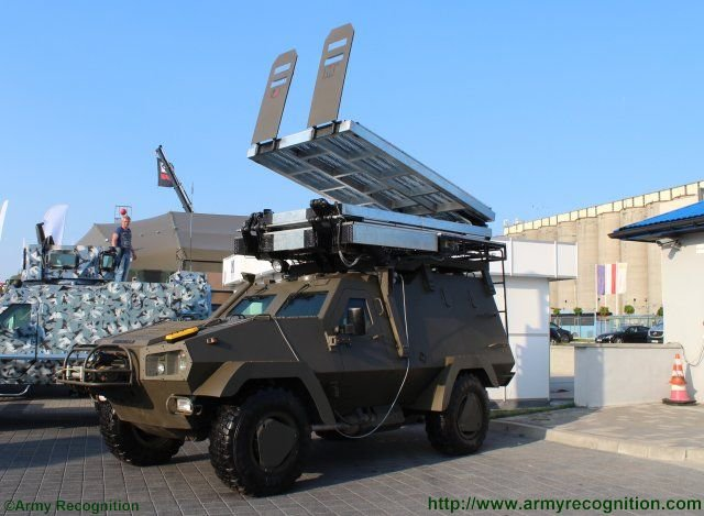 Two new variants of Lacenaire s Oncilla 4x4 armored personnel carrier make debuts at MSPO 2015 640 002