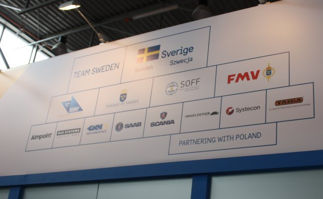 Team Sweden Swedish Defence industry companies at MSPO 2016 640 001