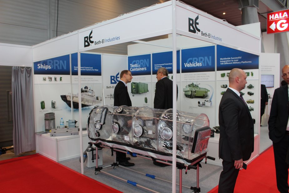Beth El Industries showcases its NRBC protection systems at MSPO 2017 925 001