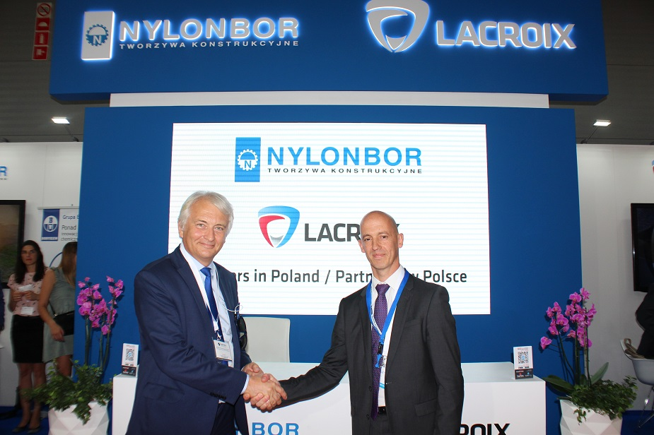 MSPO 2018 LACROIX NYLONBOR Increasing their Collaboration