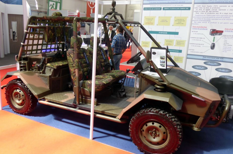 AUTPI 2V patrol vehicle developed by Romanian army