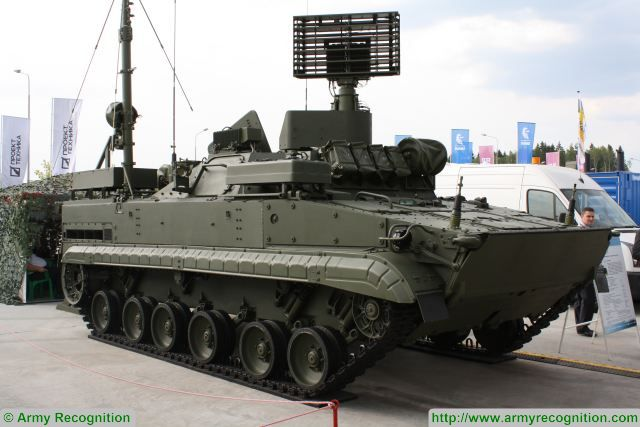 The united holding company Roselektronika (incorporated by the Rostekh Corporation) has presented for the first time, at the Army-2017 International Military Technical Forum, its modernized reconnaissance and control module from the package of integrated troop control system used in the Barnaul-T tactical unit. This has been reported to TASS by the holding press service.
