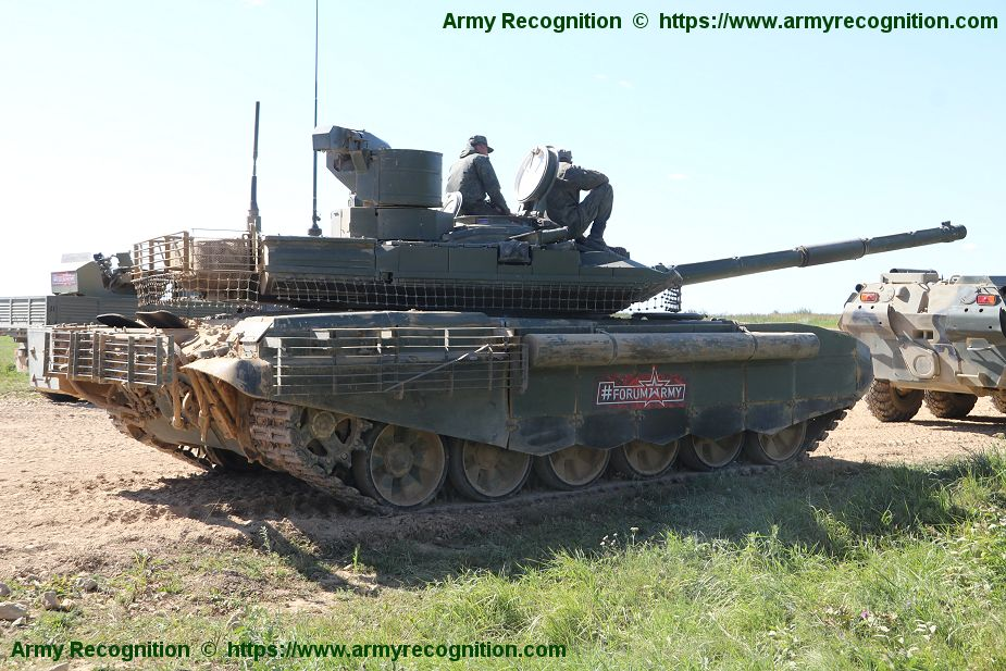 Army 2018 Russian T 90M Proryv 3 main battle tank in live firing demonstration 925 002