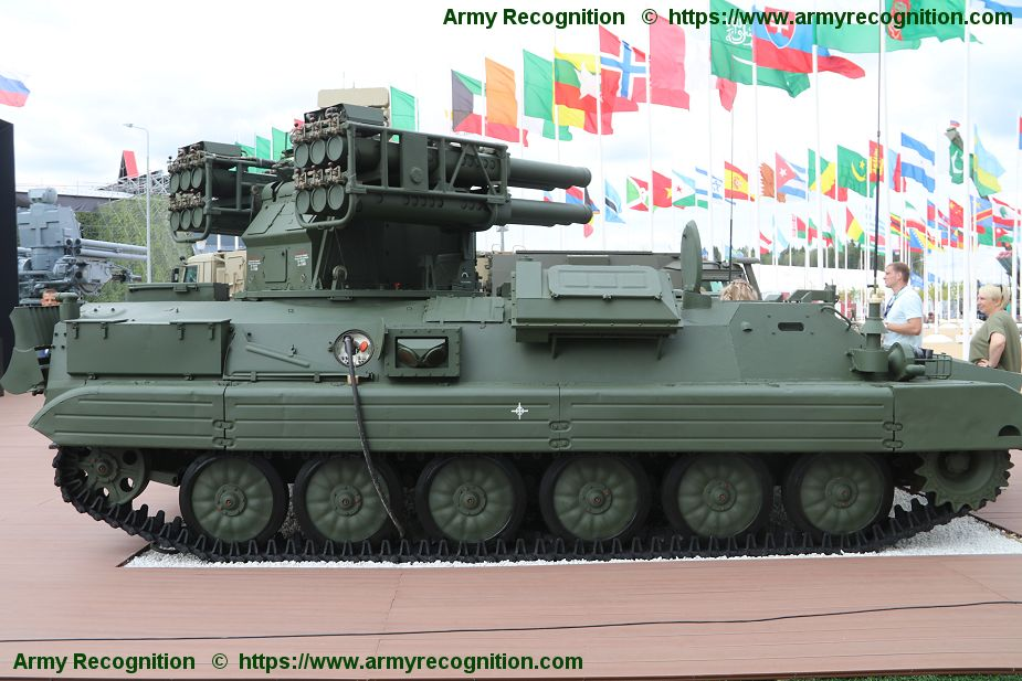 Russian Sosna air defense missile system unveiled at Army 2018 925 001