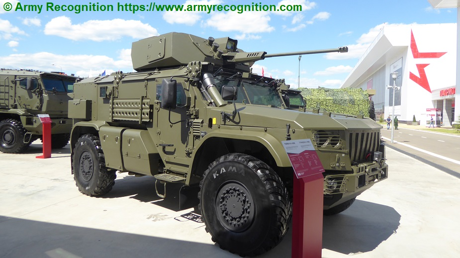 Army 2019 Remdiesel displays Typhoon with remotely controlled module
