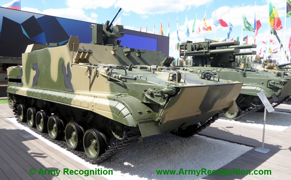 Army 2019 Russian BT 3F APC will be armed with 30mm gun
