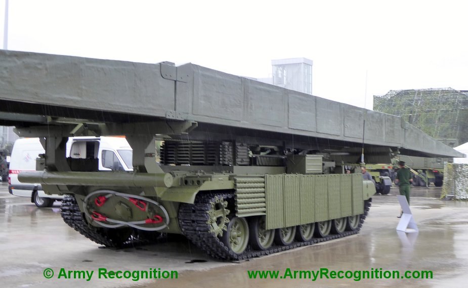 Army 2019 Russian army displays new MTU 2020 bridge layer tank 3