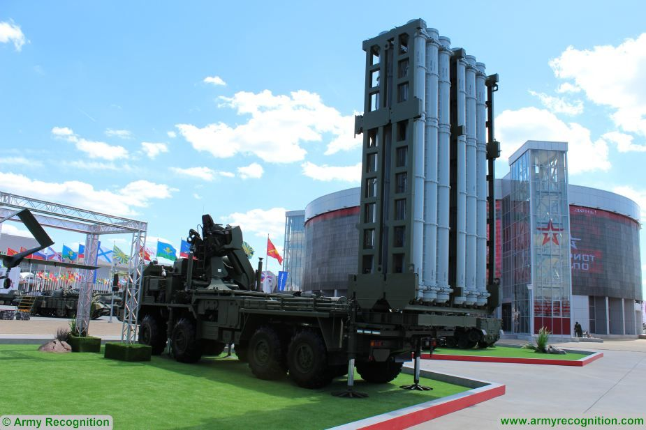 army 2019 s350e vityaz air defence system showcased