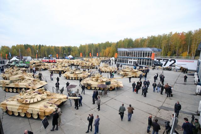 More foreign companies will take part to RAE 2015 Russia Arms Exspo 2015 defense exhibition 640 001