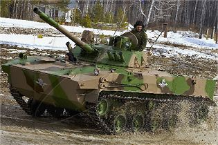 BMD-4M airborne armoured infantry fighting vehicle technical data sheet specifications information description pictures photos images video intelligence identification Russia Russian army defence industry military technology