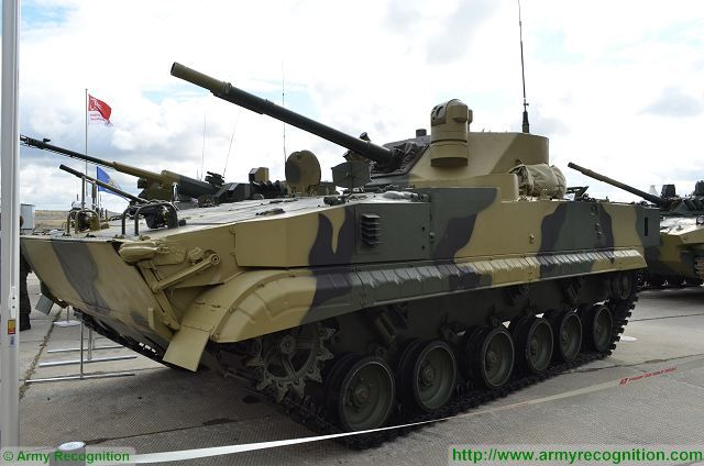 According to Tractor Plants Concern official, the Russian Defense Ministry could allocate extra funding for developing the new version of the BMP-3 infantry fighting vehicle, under the name of BMP-3 Dragoon or Dragun. The vehicle was unveiled for the first time during the Russia Arms Expo 2015 that took place in Nizhny Tagil (Russia) from the 9 to 12 September 2015.