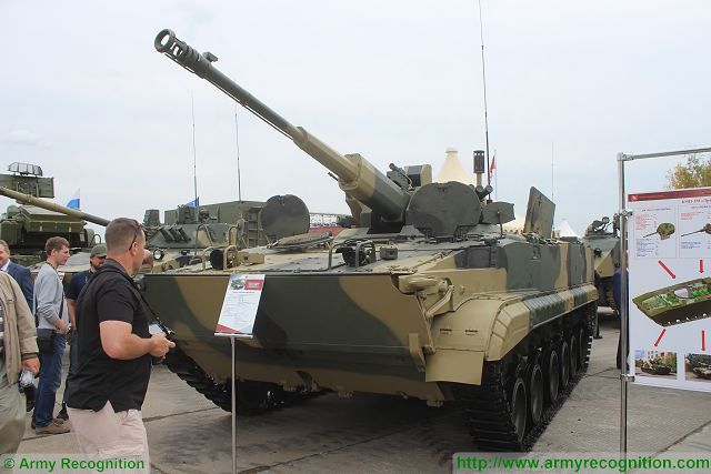 BMP-3 Dragun Dragoon tracked armoured infantry fighting vehicle Russia Russian defense industry military equipment 002