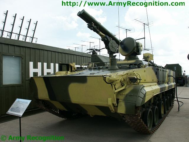 BMP-3 9P157-2 Khrizantema ant-tank missile system mounted on the chassis of BMP-3