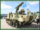 Artillery unit of the Russian armed forces of the Southern Military Region has received more than 10 new ATGM (Anti-tank Guided Weapon) armoured vehicles Khrizantema-S in the framework to replace old anti-tank missile system.