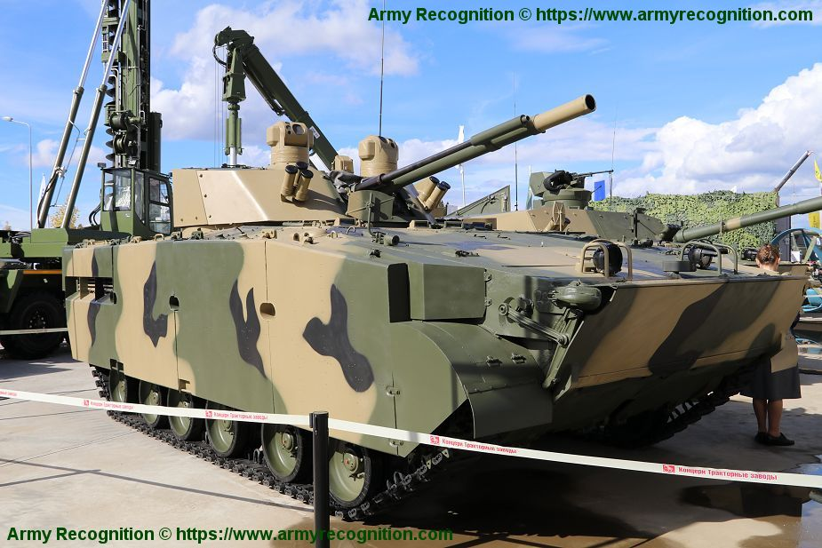 BMP 3M armoured infantry fighting combat vehicle Russian Army Russia defense industry military equipment 925 001