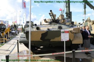 BMP 3M armoured infantry fighting combat vehicle Russian Army Russia defense industry military equipment front view 002