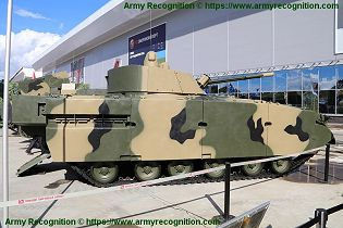 BMP 3M armoured infantry fighting combat vehicle Russian Army Russia defense industry military equipment right side view 002