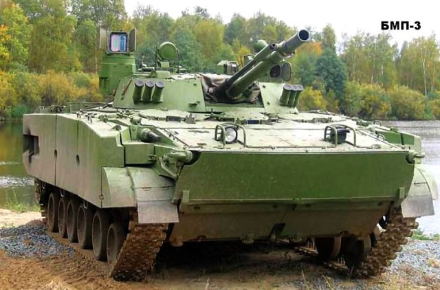 Bmp 3m Ifv Armoured Infantry Fighting Vehicle Technical