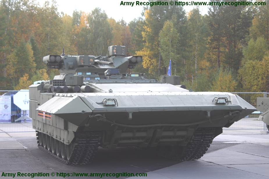 T 15 BMP Armata AIFV tracked armoured infantry fighting vehicle Russia Russian army military equipment 925 001