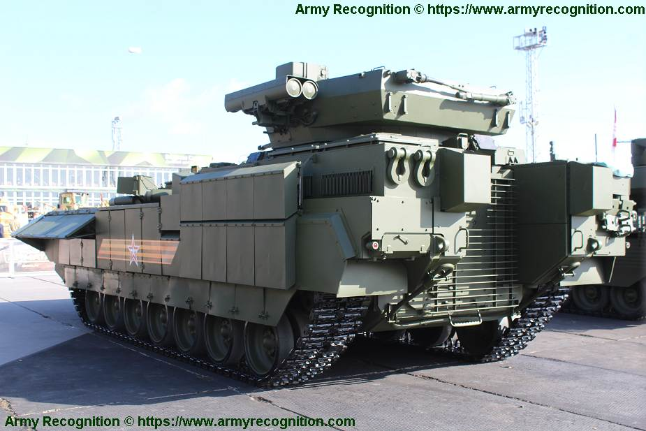 T 15 BMP Armata AIFV tracked armoured infantry fighting vehicle Russia Russian army military equipment 640 001