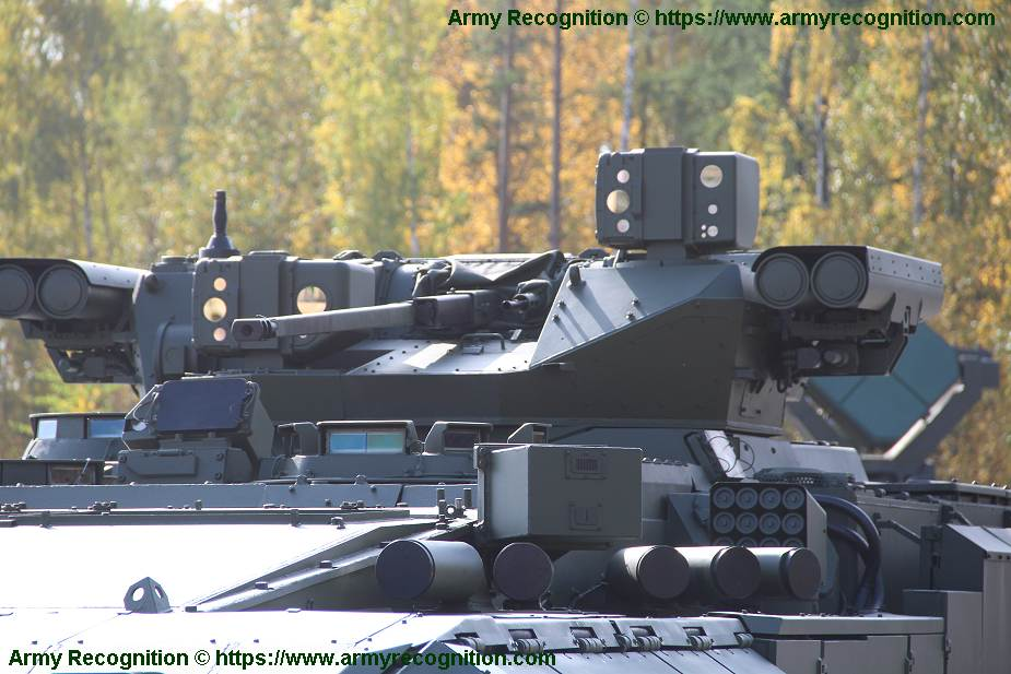 T 15 BMP Armata AIFV tracked armoured infantry fighting vehicle Russia Russian army military equipment details 925 003